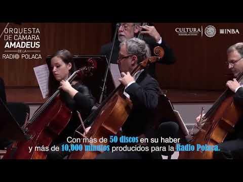 Conoce a la Orquesta de Cámara Amadeus de la Radio Polaca