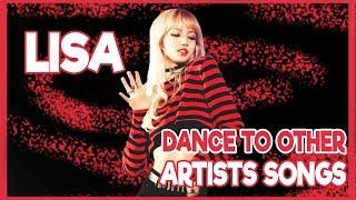 BLACKPINK LISA DANCE TO OTHER ARTISTS SONGS - Beyonce, Jason derulo, Bruno Mars...😍