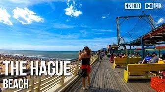 Scheveningen, The Hague Beach - 🇳🇱 Netherlands - 4K Virtual Tour