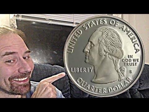 USA 25 Cents 2000 S (Virginia) Proof Quarter