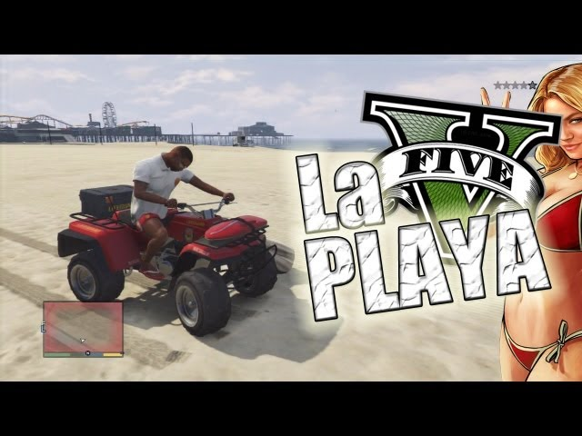 Un dia en la playa !! | GTA V (Grand Theft Auto 5) Videos De Viajes