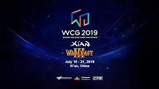WarCraft 3  WCG 2019 Xi'An  с Майкером 2 День