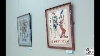 В Альметьевской картинной галерее прошла выставка Ольги Шабаловой и ее воспитанников