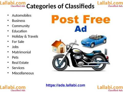 Importance and Advantages of online classifieds advertisements in India