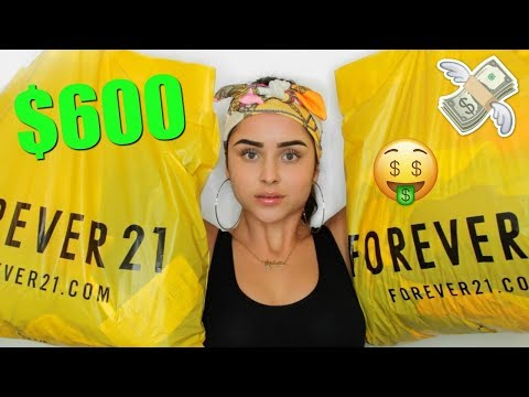 $600 FOREVER 21 HAUL | Aidette Cancino