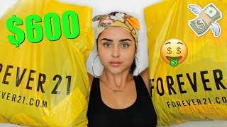 $600 FOREVER 21 HAUL   Aidette Cancino