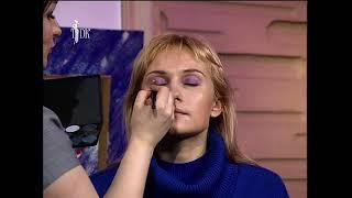 Телеканал ТДК Программа Красотка Уроки макияжа и прически часть 3