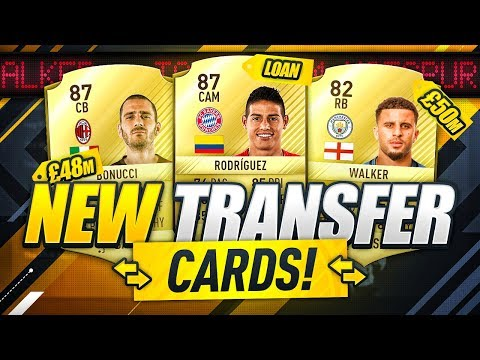 NEW TRANSFER CARDS!