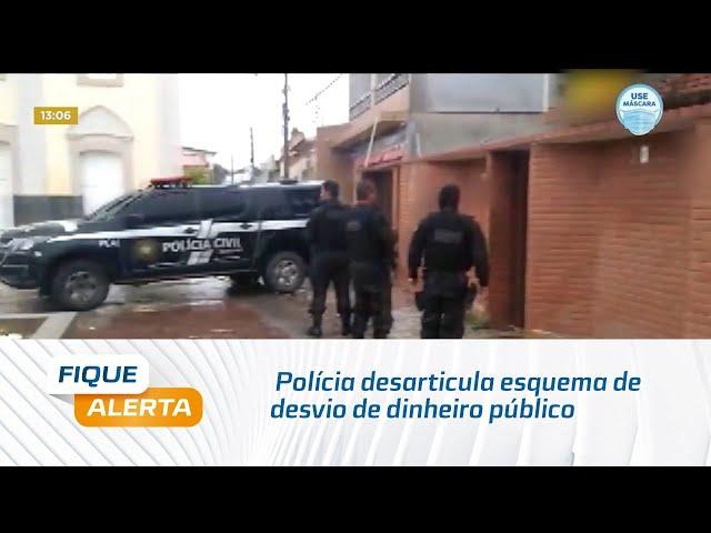 Polícia desarticula esquema de desvio de dinheiro público na Câmara de São Brás
