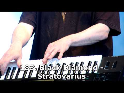 200 Greatest Rock Keyboard/Piano Performances (1/5)
