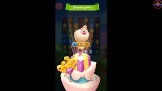 Candy Crush Friends Saga🔘🔵🔴геймплей игры для Андроид HD