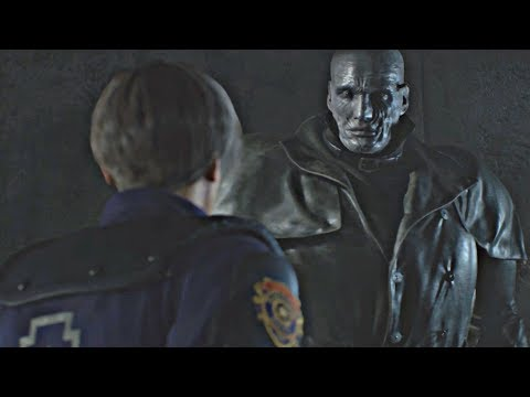 Resident Evil 2 Remake - All Tyrant Cutscenes (Mr X Scenes) RE2 Remake 2019 PS4 Pro