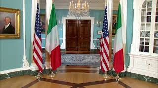 Mike Pompeo hosts Matteo Salvini at USA Department of State