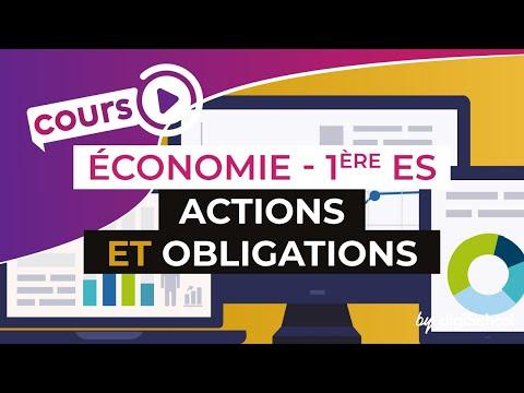 Actions et obligations - Economie - Première ES - digiSchool