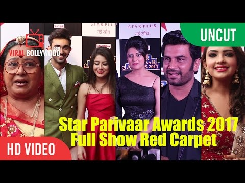 UNCUT - Star Parivaar Awards 2017 Full Show Red Carpet - Part 01 | Star Plus