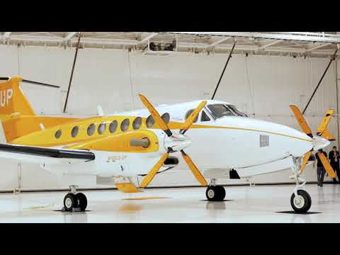 What the new Wheels Up King Air 350i 'Orange Plane' means for Hunger Action Month