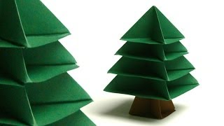 Modulares Origami - Tannenbaum (christmas Tree)