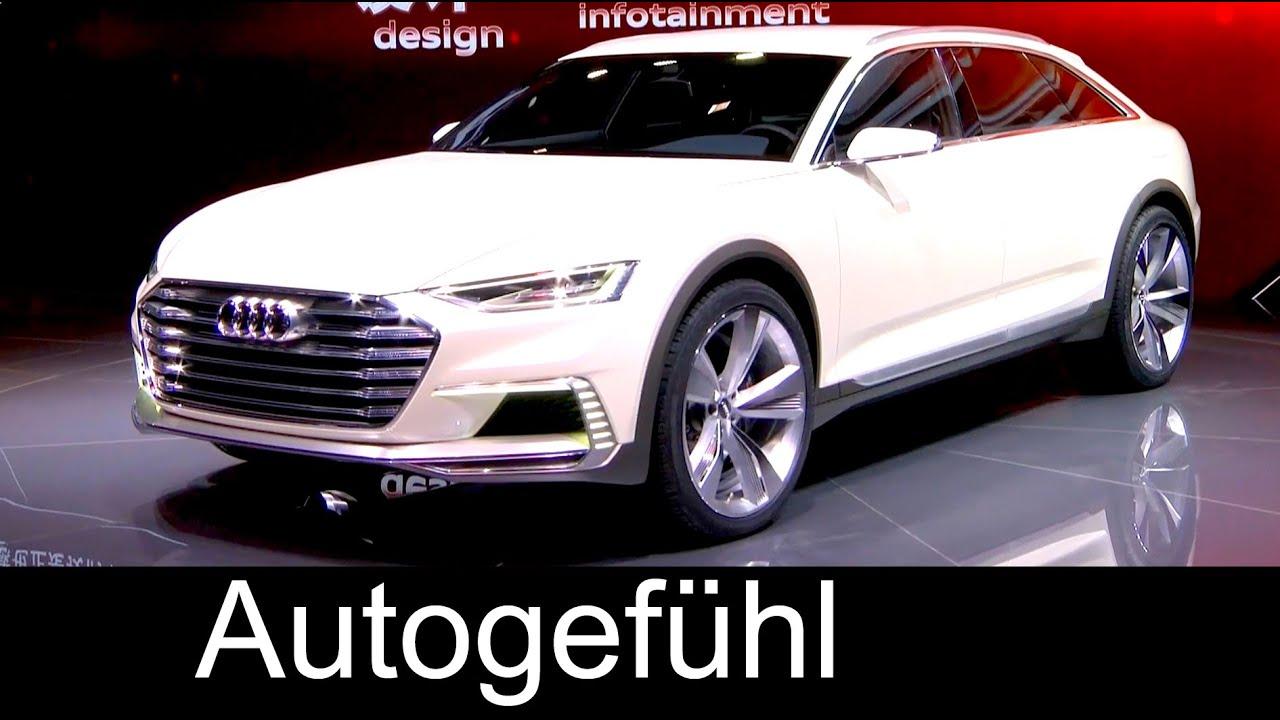 Audi Prologue Allroad concept Preview future Audi A8 or A6 ...