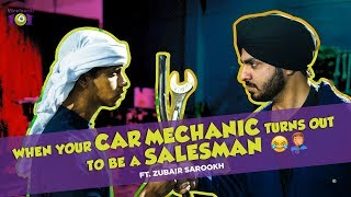 ARAB VS SARDAR I FUNNY CAR MECHANIC VS ZUBAIR SAROOKH I VIRALPANTI 101