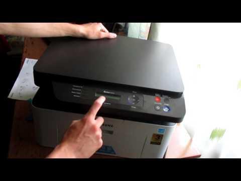 Драйвер на Принтер Самсунг XPress M2020 - YouTube