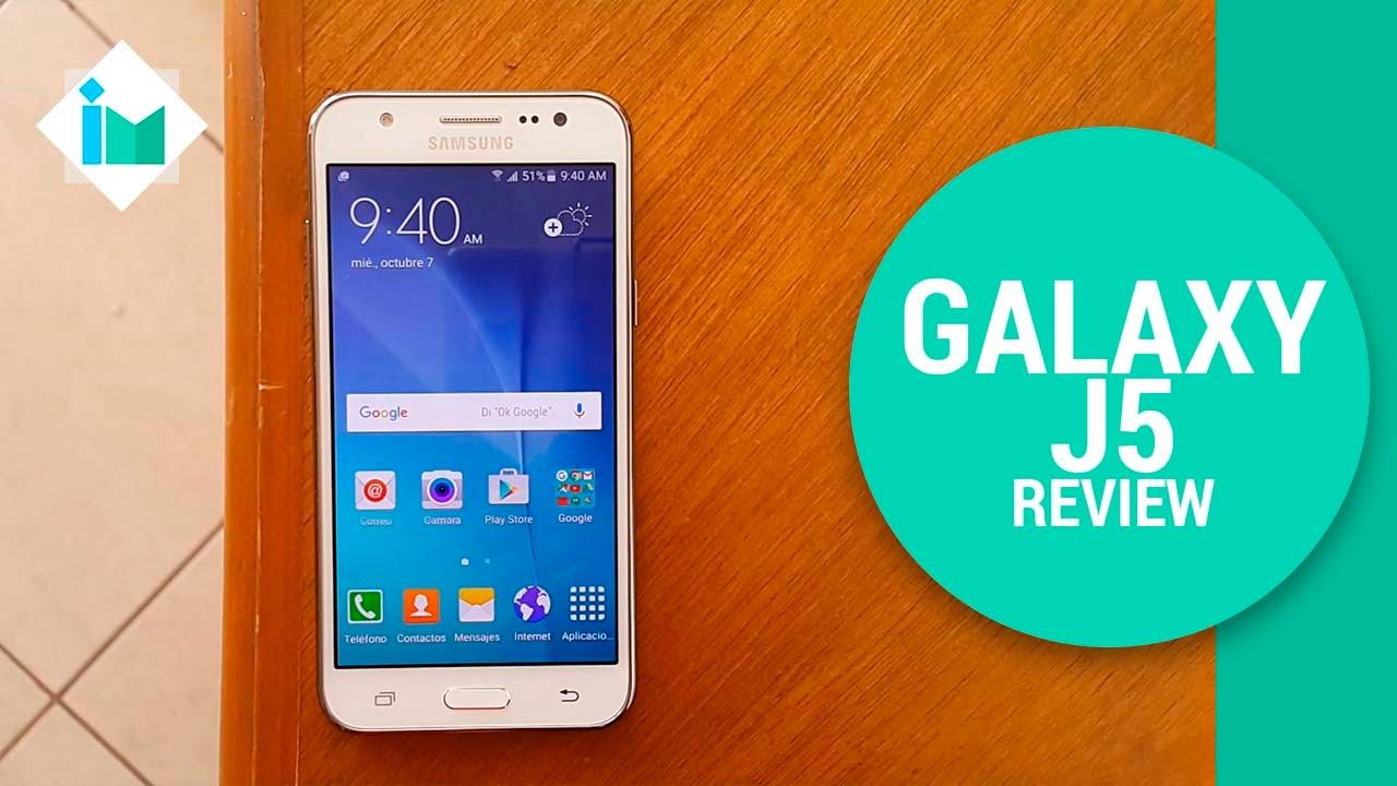 Samsung Galaxy J5 - Review en español - YouTube