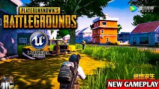 NEW GAMEPLAY - PLAYER UNKNOWN'S BATTLEGROUNDS OFFICIAL MOBILE GAMEPLAY (UNREAL ENGINE 4)