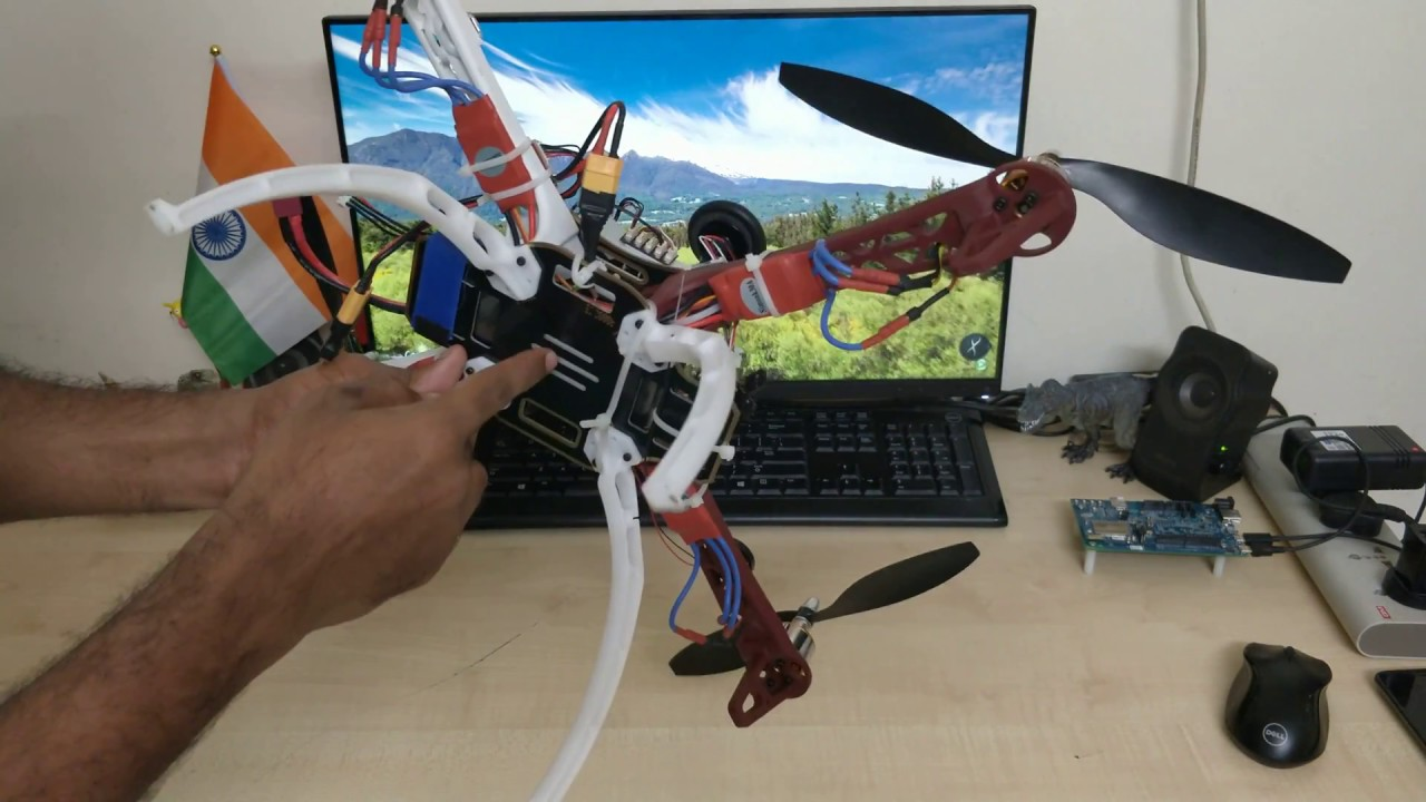 My Quadcopter build (Autonomous flight using Pixhawk 2 4 8)
