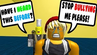 THEY COPIED THIS ROBLOX BULLY STORY!