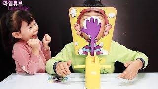 손바닥 룰렛 복불복 첼린지 장난감 게임 놀이 Pie Face Challenge Toys Silly Funny Hand Roulette Board Game Игрушки 라임튜브