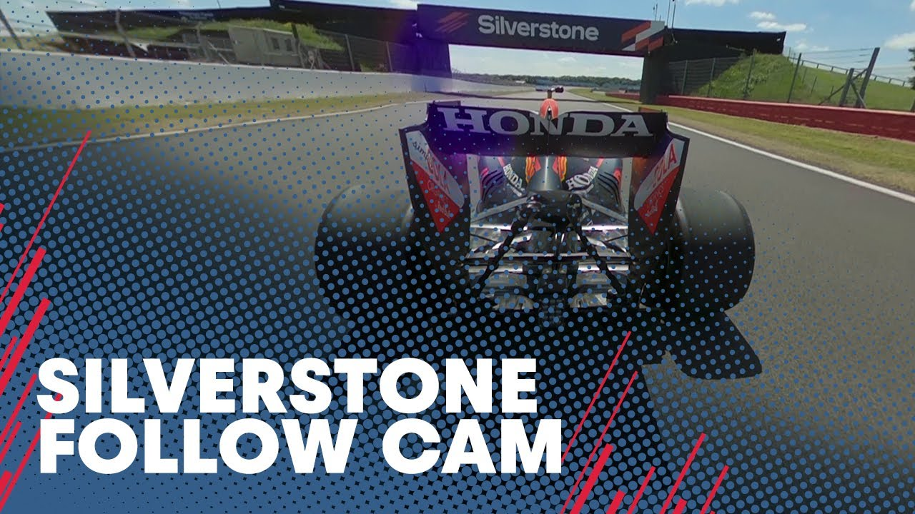 Follow Cam 🎥 David Coulthard Laps Silverstone In The RB7
