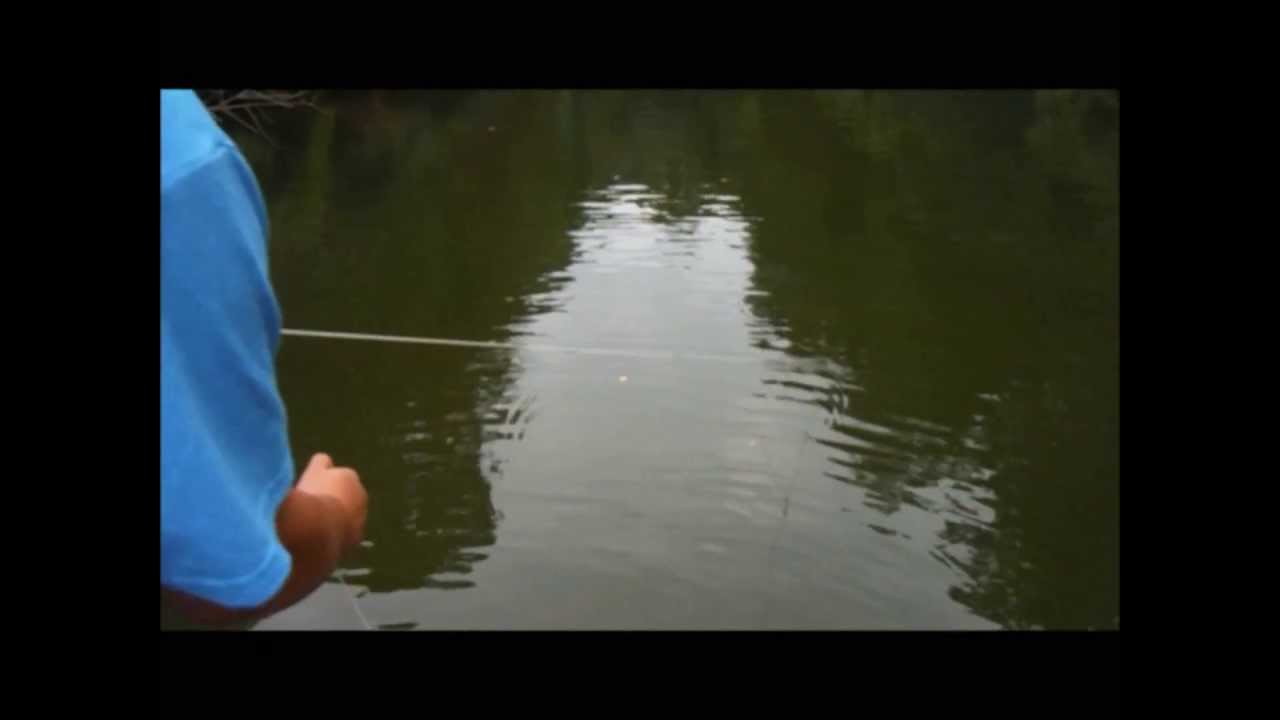 Setting And Checking The Trotline Youtube