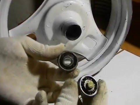 СВОИМИ РУКАМИ: Бортировка колеса, мотороллера, скутера - YouTube