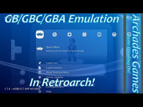 How To Setup Retroarch For GB/GBC/GBA Emulation + Link Cable!