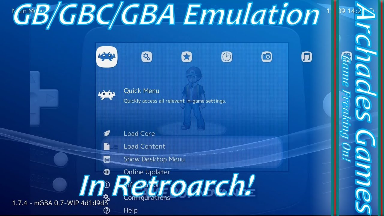 How To Setup Retroarch For Gb Gbc Gba Emulation Link Cable Youtube