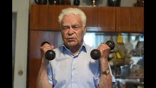 Мастер-класс от 90-летнего жителя Новополоцка Вадима Рудникова