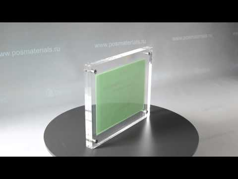 Рамка для сертификатов настольная А5 от фирмы КИМ