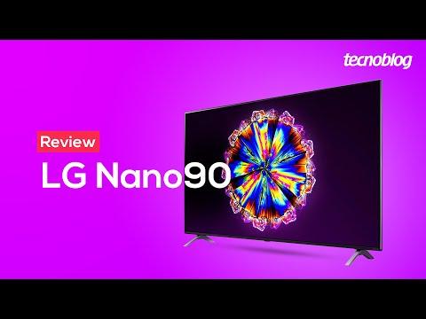 TV 4K LG Nano90 NanoCell - Review Tecnoblog