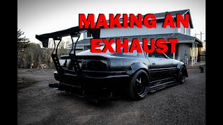 FABBING UP THE EXHAUST