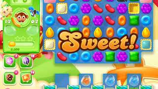 Candy Crush Jelly Saga Level 1407 (No boosters)