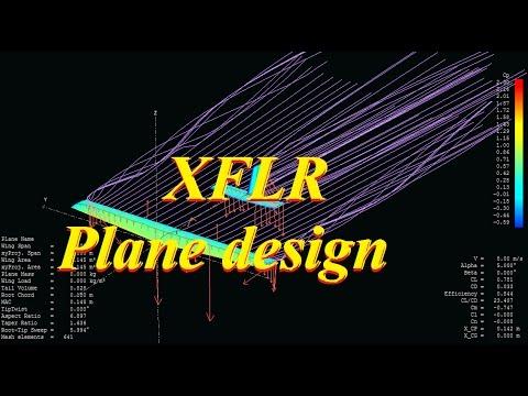 Plane designing using XFLR