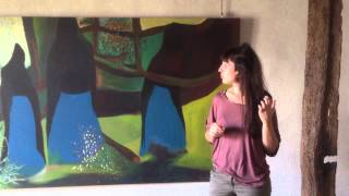 """Anne-Laure Garicoix et """"Les Flamandes de Salvadora"""""""