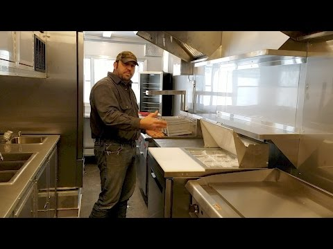 24' Custom Food Trailer Video Tour - Montana Trailer MFG