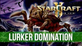 StarCraft 2: Legacy of the Void - Zerg Lurker vs Protoss! (Game Analysis)