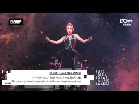 Jolin Tsai 蔡依林 - Play Live on MAMA 2015