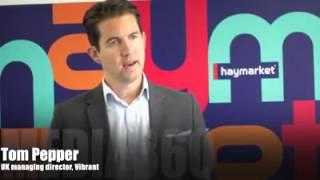 Tom Pepper speaks at Media 360
