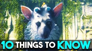 The Last Guardian - 10 AMAZING Things You MUST Know About!