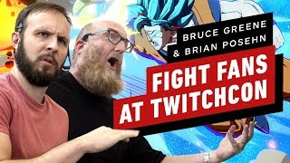 Bruce Greene VS Brian Poshen - Dragon Ball FighterZ!