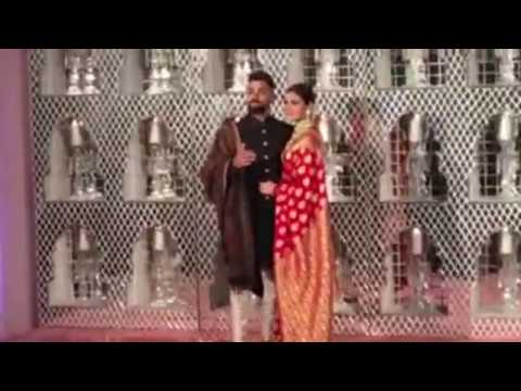 SUPER EXCLUSIVE: Visuals of Virat-Anushka Together From Their Reception | Sports Tak