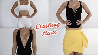 Try On Clothing Haul | White Fox Boutique