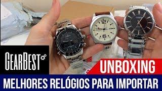 TOP Relógios da GEARBEST #UNBOXING
